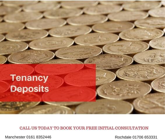 Tenant deposit compensation